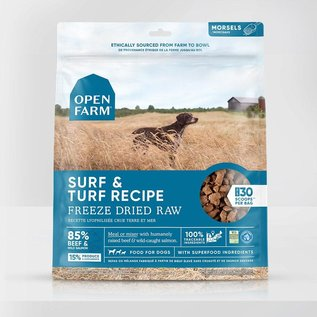 Open Farm Open Farm Dog - Freeze-Dried Surf & Turf Morsels 624g