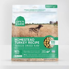 Open Farm Open Farm Dog - Freeze-Dried Homestead Turkey Morsels 624g