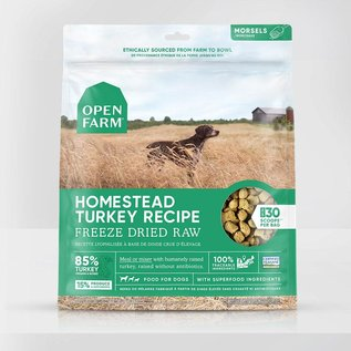 Open Farm Open Farm Dog - Freeze-Dried Homestead Turkey Morsels 624g
