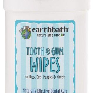 earth bath Earthbath Tooth & Gum Wipes 25pc