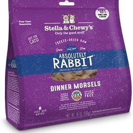 Stella & Chewy's Stella & Chewy's® Absolutely Rabbit Freeze-Dried Raw Dinner Morsels Cat Food 3.5 oz