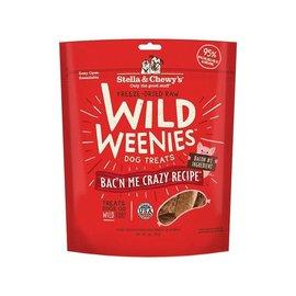 Stella & Chewy's Stella & Chewy's Freeze Dried Raw Wild Weenies Dog Treats Bacon Me Crazy 3.25 oz