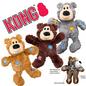 Kong KONG Wild Knots Bear Assorted Colour Medium/Large (8 inch)