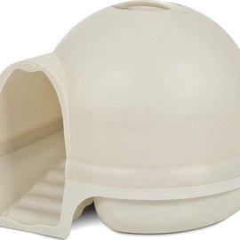 Petmate Clean Step Litter Dome White 23x23x9