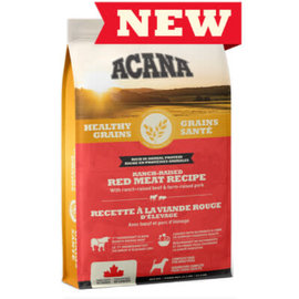 Acana Acana Healthy Grains Ranch Raised Red Meat Recipe 22.5LB