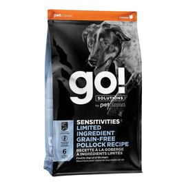 Go! Go! Dog - Sensitivities Polluck Grain Free 22lb