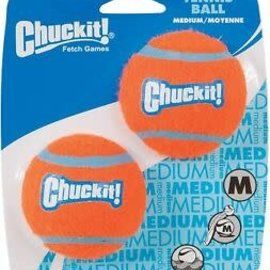 Chuckit! Chuckit! Tennis Ball Med (2 Pack)