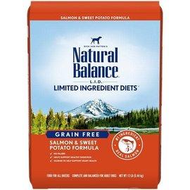 Natural Balance Natural Balance Dry Dog LID Grain Free Salmon & Sweet Potato 24lbs
