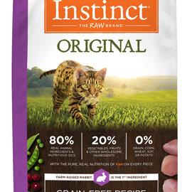 instinct Instinct Dry Cat Original Rabbit 4.5lbs