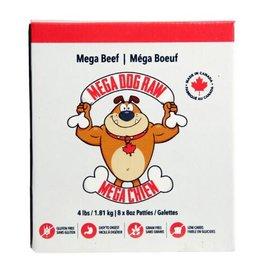 Mega Dog Mega Dog Raw Beef 4lbs