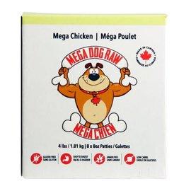 Mega Dog Mega Dog Raw Chicken 4lbs