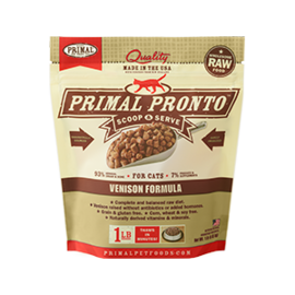 Primal Primal Pronto Venison 1lb