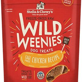 Stella & Chewy's Stella & Chewy's Freeze Dried Raw Wild Weenies Dog Treats Chicken 3.25 oz