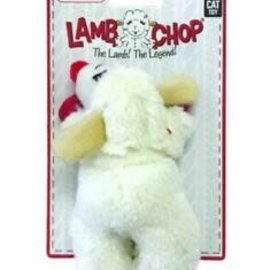 """Multipet Products Lamb Chop Cat Toy with Catnip 4"""""""