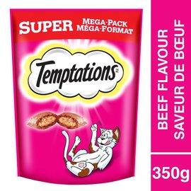 Temptations Temptations Beef Cat Treats Super Pack 350g