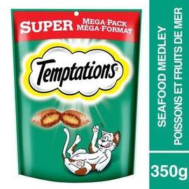 Temptations Temptations Seafood  Cat Treats Super Pack 350g