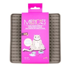 messy cats MESSY CAT Silicone Litter Mat Grey