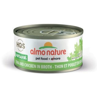 Almo Nature Almo Cat Nature HQS Natural Tuna and Chicken in Broth Can 70g