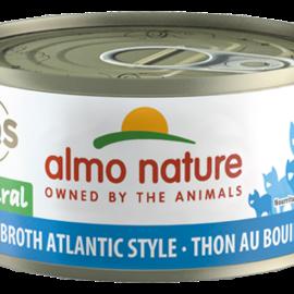 Almo Nature Almo Cat - HQS Natural Tuna in Broth Atlantic Style 70g