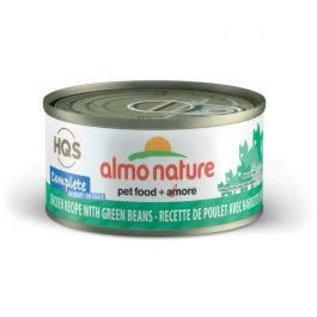 Almo Nature Almo Nature HQS Complete Chicken with Green Bean in Gravy Cat Can 70g