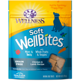 Wellness Wellness Wellbites Dog Chicken & Lamb 6oz