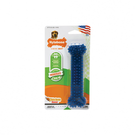 Nylabone NYLABONE® MODERATE DENTAL CHEW BLUE MEDIUM