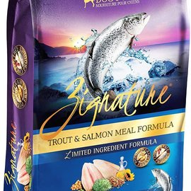 Pet Science Zignature Limited Ingredient Formula - Trout & Salmon 12lbs