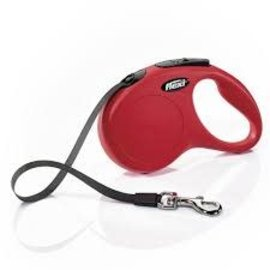 Flexi Products Flexi Classic Retractable Tape Leash 5m (Red)