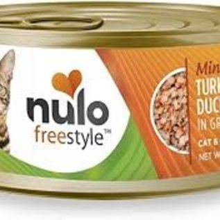 Nulo Nulo Freestyle Wet Cat Food - Minced Turkey/Duck 3oz Can