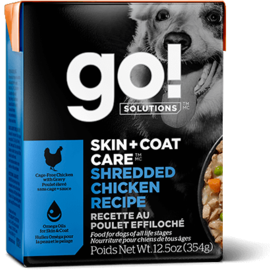 Go! Go! Dog - Shredded Chicken Recipe 12.5oz