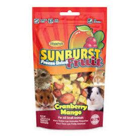 Higgins Higgins Sunburst Freeze Dried Fruit for Small Animals - Cranberry Mango Flavour 14g