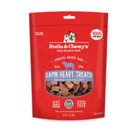Stella & Chewy's Stella and Chewy's Lamb Heart Treats 3oz