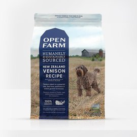 Open Farm Open Farm Dog - New Zealand Venison 4.5lb
