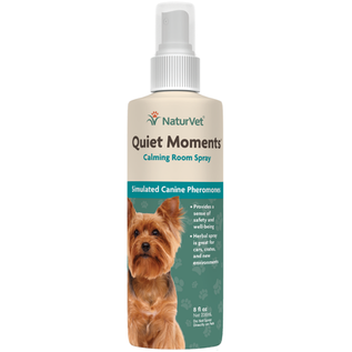 NATUREVET NaturVet  Quiet Moments Calming Room Spray for Dogs 8 fl oz