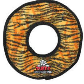 VIP Products Tuffy No Stuffing Mega Ring Tiger