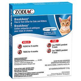 zodiac Zodiac Flea & Tick Collar for Cats & Kittens Breakaway Collar