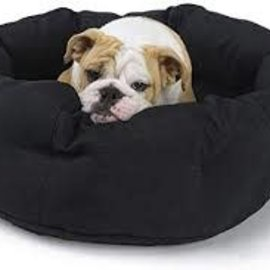 Aviva Aviva Designer Beds - Round Cotton with Removable Cover XS Black/Slate