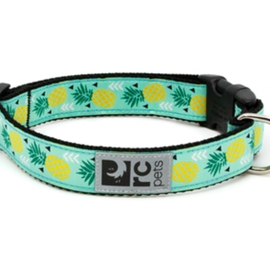 "RC Pets RC Pets Clip Collar Pineapple M (12""-20"")"