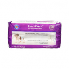 Pooch Pads PoochPads Diapers Disposable X Small (Female)
