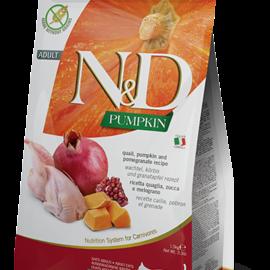 Farmina N&D Cat - Pumpkin, Quail & Pomegranate Adult 3.3lb
