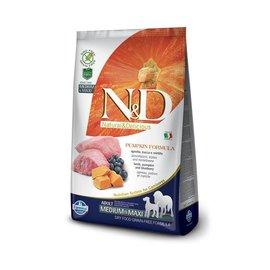 Farmina N&D Dog - Pumpkin & Lamb Adult Med/Max  5.5lb