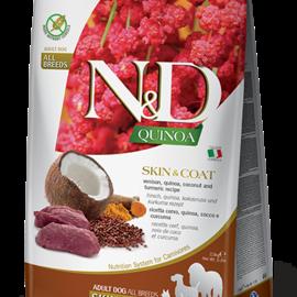 Farmina N&D Dog - Quinoa Skin & Coat Venison 5.5lb