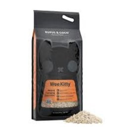 Rufus & Coco Rufus & Coco Wee Kitty Clumping Corn Flushable Cat Litter 9kg