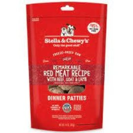 Stella & Chewy's Stella & Chewy's® Beef, Goat, and Lamb Dinner Patties Freeze-Dried Raw Dog Food 14 oz