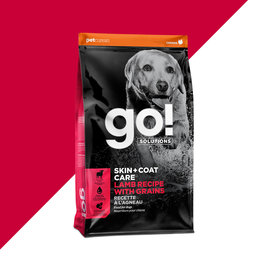 Go! Go Dry Dog Skin & Coat Lamb with Grains 25 LB