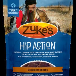 Zukes Zuke's Hip Action CHICKEN Recipe 16oz DOG Treats