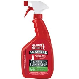 Nature's Miracle NM Advanced Cat Stain & Odor Spray Bottle 32OZ