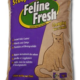 feline fresh Feline Fresh - Clumping Pine (Purple) 34lb