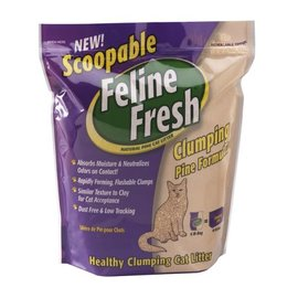 feline fresh Feline Fresh - Clumping Pine Cat Litter (Purple)  6lb