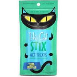 Tiki Cat Tiki Cat Stix Tuna Mousse 3oz pack w/ 6 Individually wrapped portions